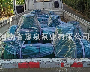 河南新乡离心泵发货现场