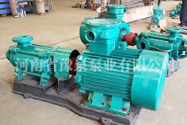 礦用耐磨多級離心泵