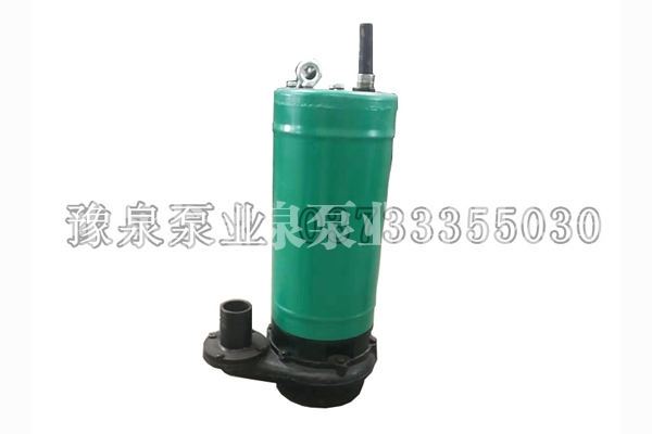 上海BQS矿用隔爆型潜污水电泵